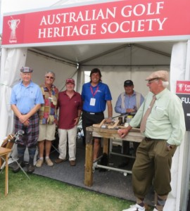 I was back visiting with the Australian Golf Heritage Society folks, of course...