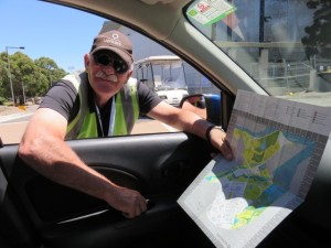 Are people in Sydney friendly, helpful and overly nice to be around or what? This is how I met Jim, the security guard!