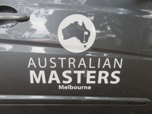 It is Australian Masters time in Melbourne!