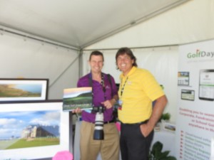 With Gary Lisbon, photographer and author of Great Golf Down Under 1 & 2.