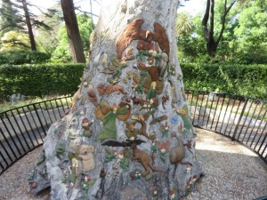 The Fairies' Tree in Fitzroy Gardens.