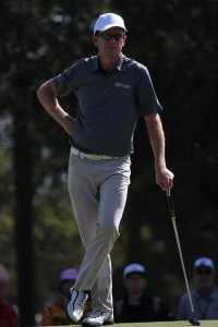 Michael Wright faltered a little bit in Round 3 but is playing in the final group on Sunday with a good chance to win.