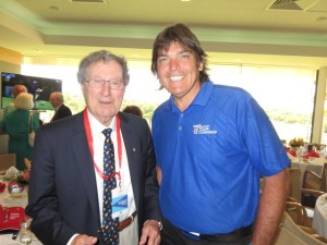Meeting Peter Thomson, the Australian Golfing Legend and 5-time Open Champion was a thrill!