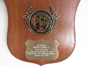 Dan Cullen, an inaugural member of the Australian PGA Senior Circuit.