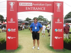 WOW, what a week at the 2014 Australian Open at The Australian Golf Club in Sydney!