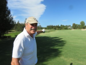 John Newcombe is a a great partner to have in golf. He shows you how to enjoy life while playing golf!