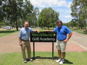 With Richard Mercer, one of Australia's finest and most respected golf instructors.