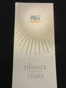 Invitation to dine with the Stars tonight...