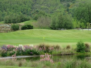 The Millbrook Resort is a garden enclosing a golf course, simply beautiful!