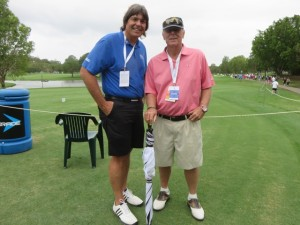 With golf course architect, champion golfer and all-around great guy Graham Marsh.