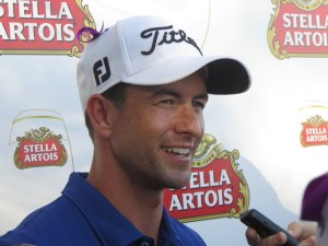 World No. 3 Adam Scott appears confident that he can deliver after a good start in the Australian PGA Championship.
