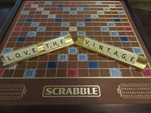 Scrabble rules at The Vintage. Golf, resort accommodations and spa, that is a triple-word score for me!