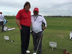 Christopher  Mata, a Master Club Fitter Golf Professional from Mission Hills CC in Rancho Mirage, did a great job of fitting me with Taylormade clubs!