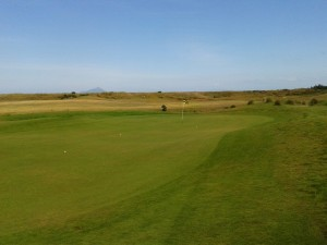The new 17th green. I hid a 6-iron here and missed my 12-footer for a deuce but did manage to birdie the par-3 13th hole!