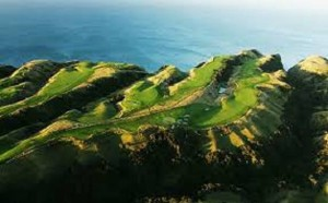 Aerial Cape Kidnappers