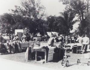 The PGA Show 72 years ago in a parking lot in Dunedin. Photo Credit: Bob Denney, PGA of America