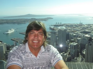 My last day in New Zealand at the Sky Tower in Auckland.