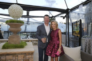 Stefanie and Robert Skinner, hosts of the inaugural First Tee ParTee.