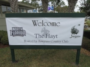 The Hayt has been hosted by Sawgrass CC, John Hyat and UNF for the last 15 years.