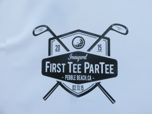 The logo for the First Tee ParTee to benefit the First Tee of Monterey.