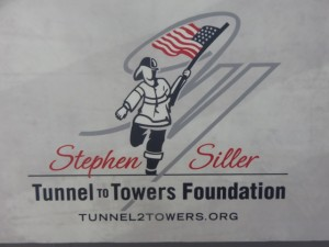 Logo of the Stephen Siller Tunnel to Towers Foundation.