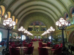 The Great Hall at the Union Station Hotel is... well... GREAT!