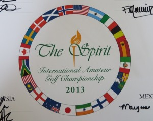 The logo of The Spirit is a never ending circle of the flags of the 20 participating countries.