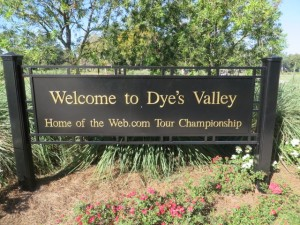 Dye's Valley determines the fate of many professional golfers!