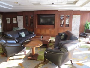 Resort lounge area, well appointed and comfortable, Texas-style!