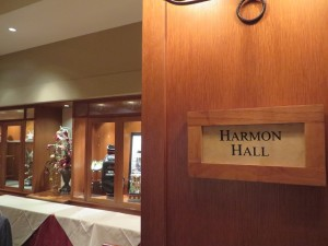 Harmon Hall in the Clubhouse at the Golf Club of Houston.