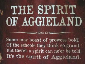 I experienced the Spirit of Aggieland for sure!