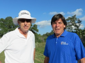 "With Dan Forsman: ""golf by its nature is international. will be challenging competition from all corners of the earth."""