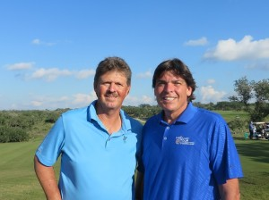 "With Jay Don Blake: ""exciting, great impact and benefit for golf."""