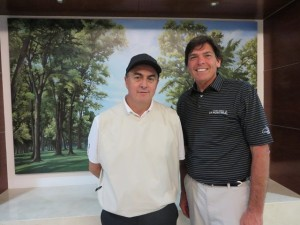 With Mario Ortega. member for life at the Golf Club of Mexico!