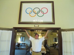 The Olympic Rings are at home at Glen Echo CC and so was I!