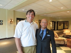 With Rob Stewart, the General Manager of Glenn Echo CC.