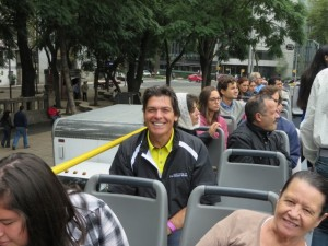 Having the time of my life touring Mexico City!