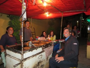 Dinner on the street, the best place to eat in Mexico City!