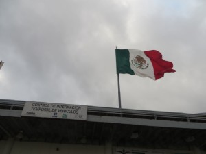 To the BIG flag of Mexico in Nuevo Laredo is where I needed to go!
