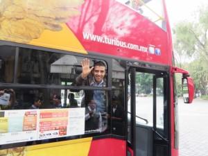 My awesome Turibus guide Alberto Vargas!