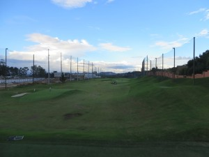 Top Tee Cayala, the practice facility with 4 greens, 4 tees and 43 golfing hole combinations!