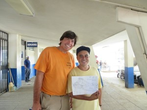 Jorge was a great help getting Torch and I into El Salvador!