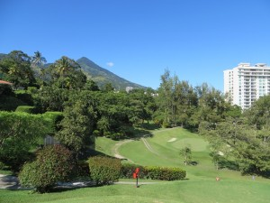 I need to go back and play Cuscatlan CC beautifully located in the city of San Salvador in the watchful eye of Volcano San Salvador!