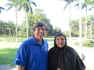 I was very fortunate to meet Madre Ivonne at the Mayan Golf Club.
