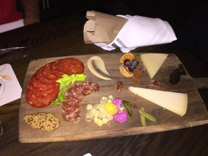 This was no ordinary cheese platter... and neither was the rest of my culinary experience at RBI!