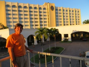 My home for two nights at the Intercontinental Real in San Salvador, El Salvador.