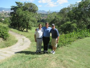 Playing the CC of Tegucigalpa with Henry and Rodolfo was a highlight of my visit to Honduras!