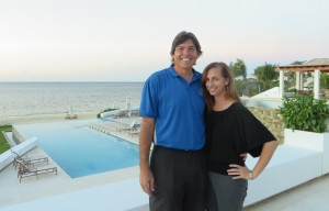 With Keila at the Las Verandas Hotel & Villas, a beautiful part of the Pristine Bay Resort!