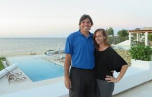 With Keila at the Las Verandas Hotel & Villas, a beautiful part of the Pristine Bay Resort!