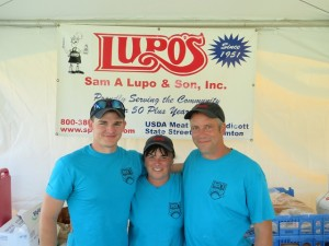 The Lupo's team of Cole, Patti & Pat on the 14th. Spiedies Extraordinaire!